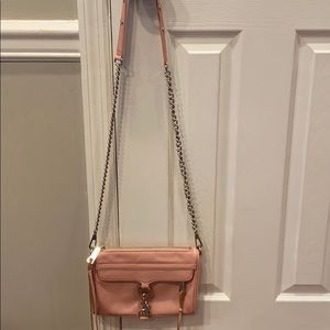 Rebecca Minkoff Crossbody Mini MAC Bag in Pink